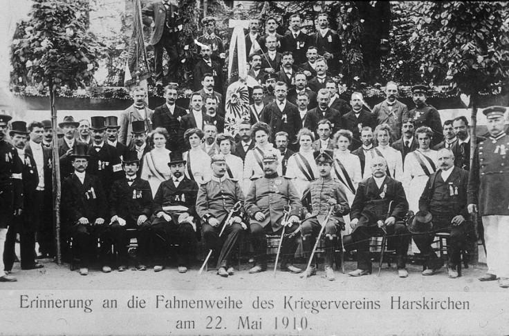 Kriegerverein harskirchen 1910