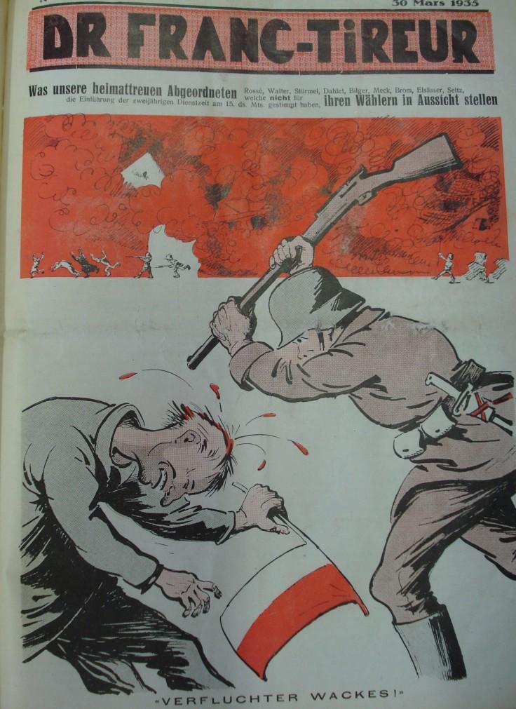 FRANC TIREUR 1935