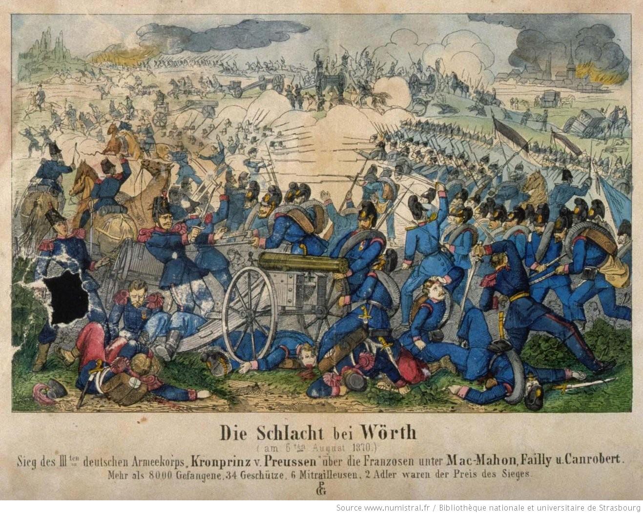 6/08/1870 : Bataille de Wörth