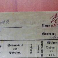 1919 : Chasse aux Vieux-Allemands