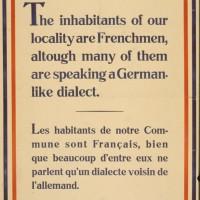 1944 : Libération / Avis aux Américains