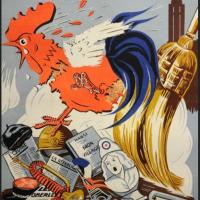 1941 : Affiche francophobe