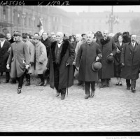 1919 : Clemenceau à Strasbourg