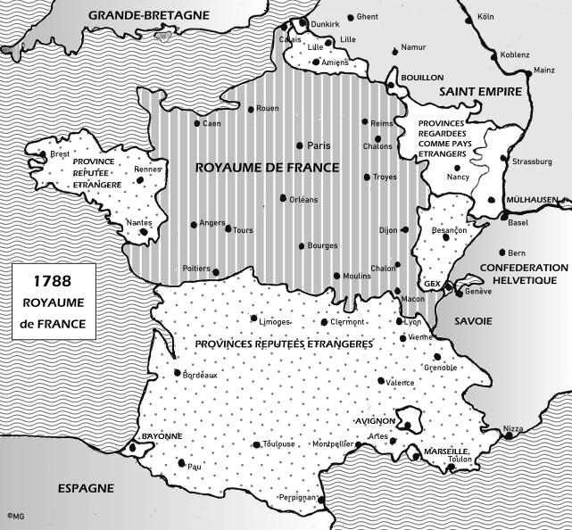 FRANCE 1788