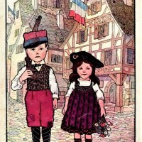 1914 : Bombardements de Thann et propagande