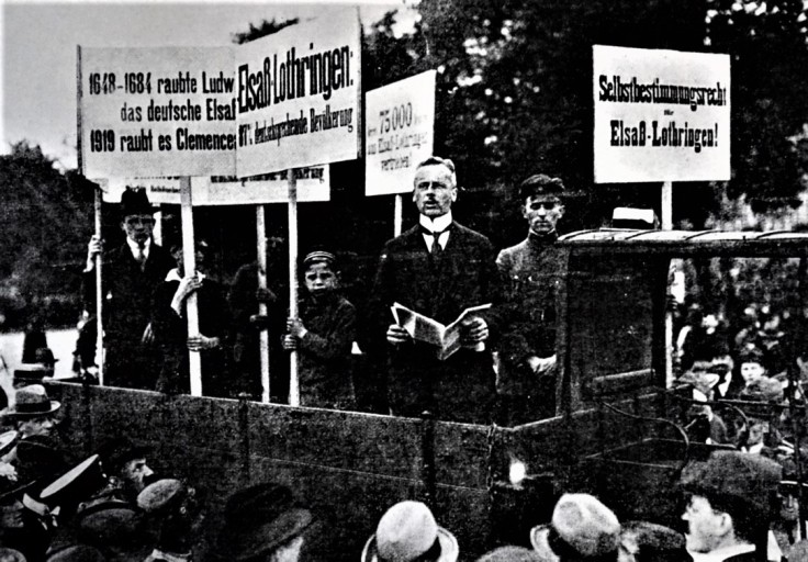 ELSASS-BERLIN 1919