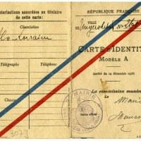 1918 : Cartes d'identité discriminatoires