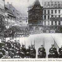 Novembre 1918 : Défilés mortifères dans le Land Elsaß-Lothringen