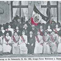 1871-1918 : Kriegervereine (amicales patriotiques)