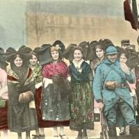1914-1918 : Femmes déguisées en Alsaciennes