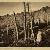 1918 : Profanation du monument aux morts au Hartmannsweilerkopf